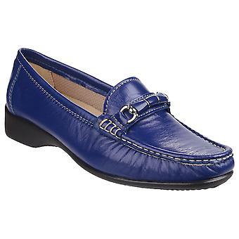 Cotswold Womens Barrington Slip on Loafer Shoe