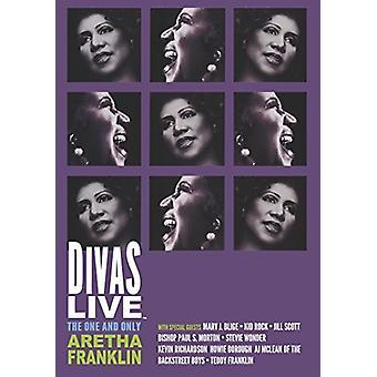 Aretha Franklin - Divas [DVD] USA import