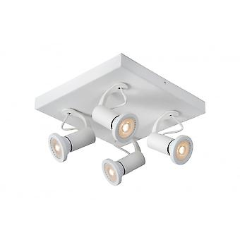 Lucide XANTRA Spot LED 4xGU10/5W Incl Dimmable 320LM