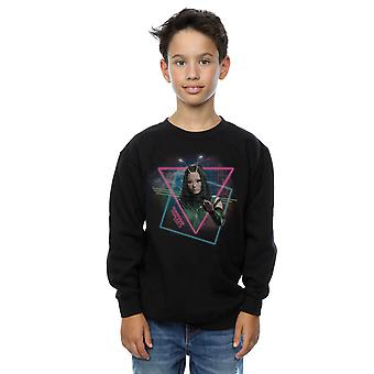 Marvel Boys Guardians Of The Galaxy Neon Mantis Sweatshirt