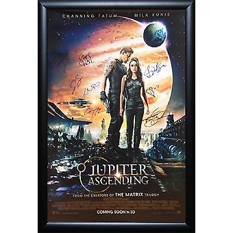 Jupiter Ascending - Signed Movie Poster
