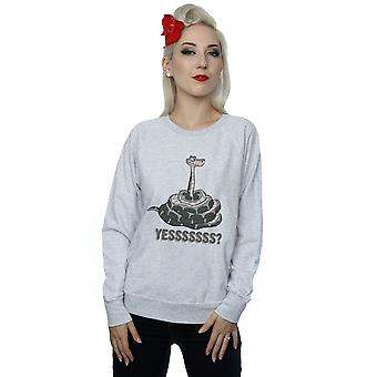 Disney Women's The Jungle Book Kaa Yesssss Sweatshirt