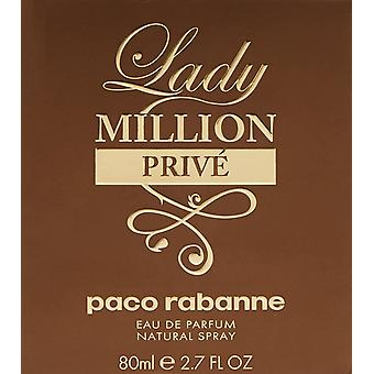 Paco Rabanne Lady miljoner Privé EDP 80ml Spray