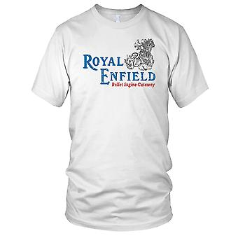 Royal Enfield Bullet Engine Cutaway Classic Motorcycle Motorbikes Kids T Shirt