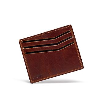 UNISYNK Card Wallet Leather Brown