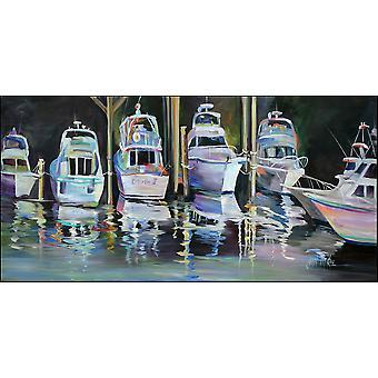 Sailboats Endorfin Indoor or Outdoor Runner Mat 28x58