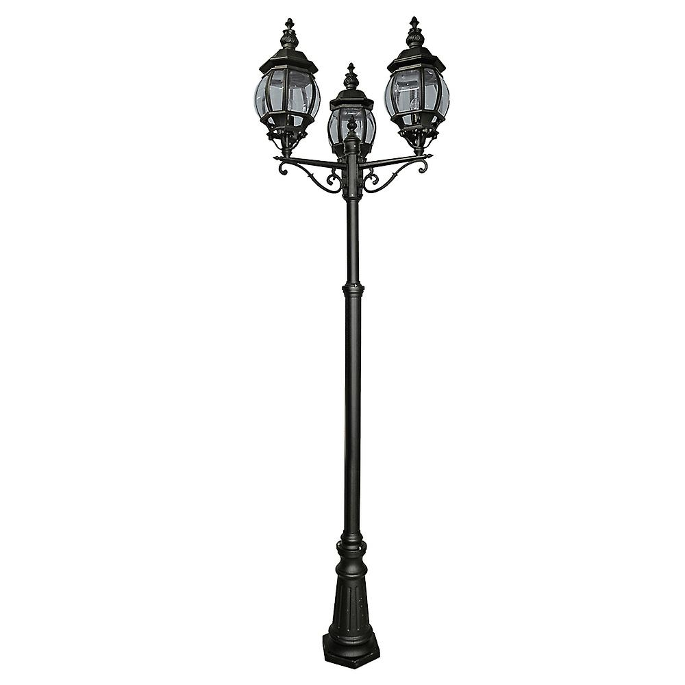 Searchlight 7173-3 Bel Air 3 Light Outdoor Post Lamp