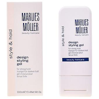 Marlies Møller Hold stil Design For stærkt Hold Styling Gel 100 Ml