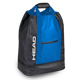 HEAD Team Duffle Bag - 44 liter - ljus blå/svart