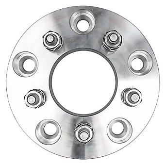 Trans-Dapt Performance 3616 Billet Wheel Adapter 5 x 5.5 in. Hub - 5 x 4.5 in. Wheel 7 in. Dia 1.25 in. Thick 78 mm Cent