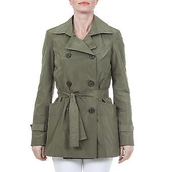 V 1969 Italia mujeres abrigo verde oliva