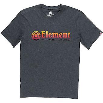 Elemento Horizontal llena de manga corta camiseta
