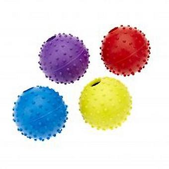 Classic Pimple Ball With Bell Dog Toy