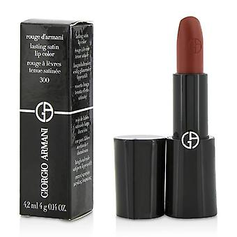 Giorgio Armani Rouge d'Armani Lasting Satin Lip Color - # 300 Gio - 4g/0.14oz