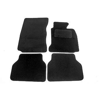 Fully Tailored Car Floor Mats - BMW 5 Series E39 1995-2003 Black