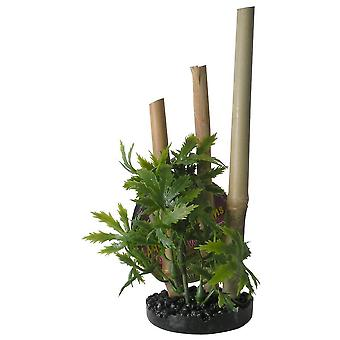 Sydeco Bamboo Plant S/Black (Peces , Decoración , Plantas artificiales)