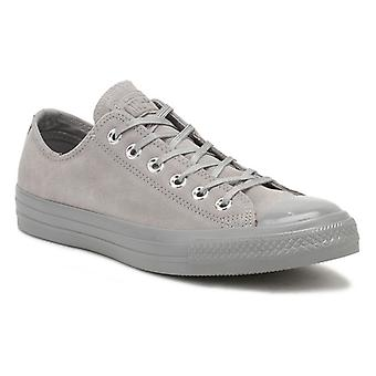 Converse Chuck Taylor All Star Womens Dolphin Grey Suede Ox Trainer