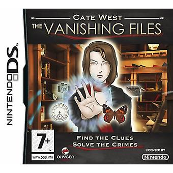 Cate West The Vanishing Files (Nintendo DS)