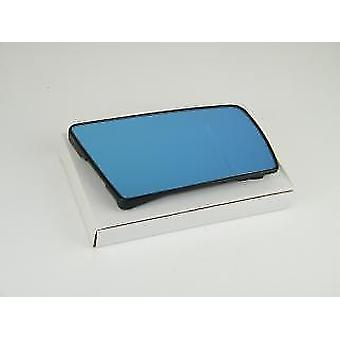 Right Blue Mirror Glass (heated) & Holder for Mercedes C-CLASS Estate 1996-2001