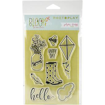 Bloom Polymer Stamps-