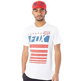 Fox Optic White Red White and True T-Shirt