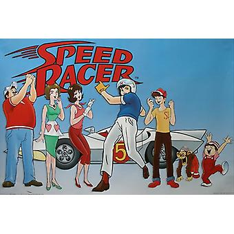 Speed Racer Movie Poster (11 x 17)