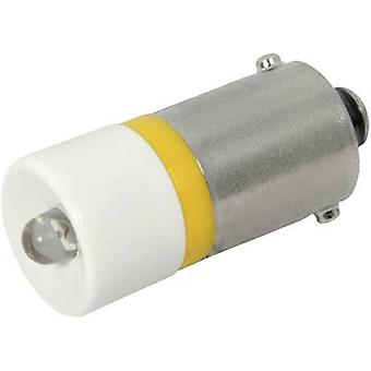 CML LED bulb BA9S Yellow 24 Vdc, 24 V AC 300 mcd 18602352