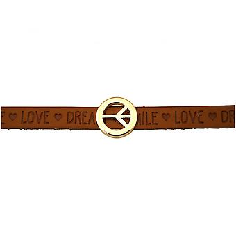 -Bracelet - harmony - peace - WISHES - Brown - magnetic closure