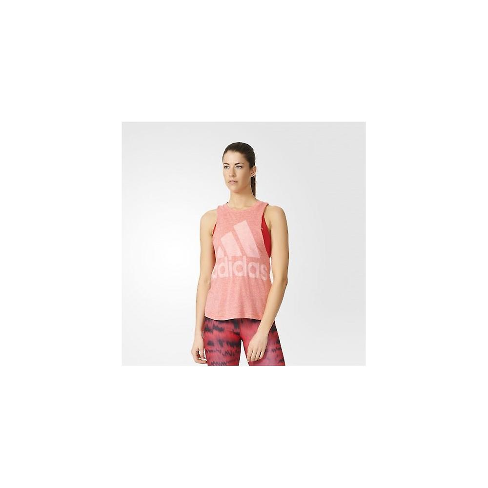 Adidas Logo Sleeveless AZ3065   women t-shirt