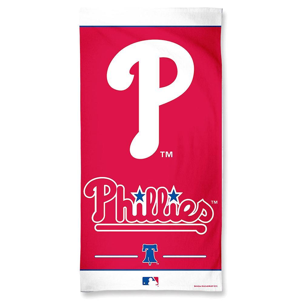 Wincraft MLB Philadelphia Phillies praia toalha 150x75cm
