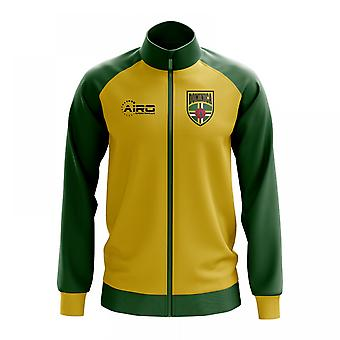 Dominica Concept Football Track Jacket (Yellow) - Kids