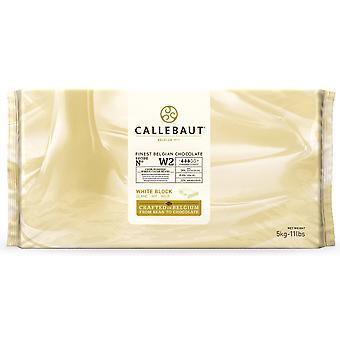 Callebaut weiße Schokolade wählen Sie Block