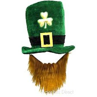 St Patrick's Day Topper with Beard