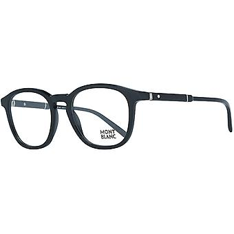 MONTBLANC men's plastic glasses black