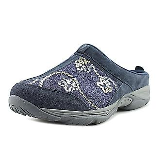 Easy Spirit Womens ez cool Leather Closed Toe Clogs