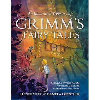 An Illustrated Treasury of Grimm's Fairy Tales - Cinderella - Sleeping