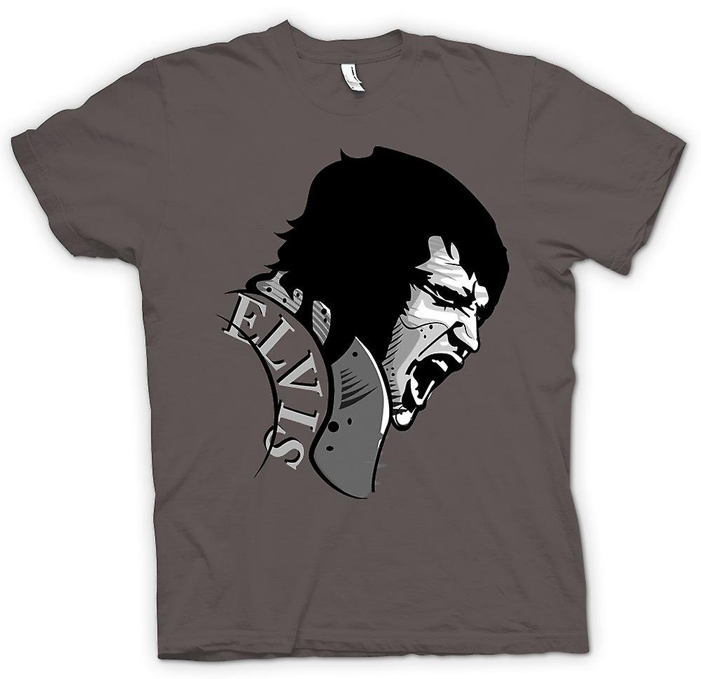 Womens T-shirt - Elvis Presley Singing - Cool