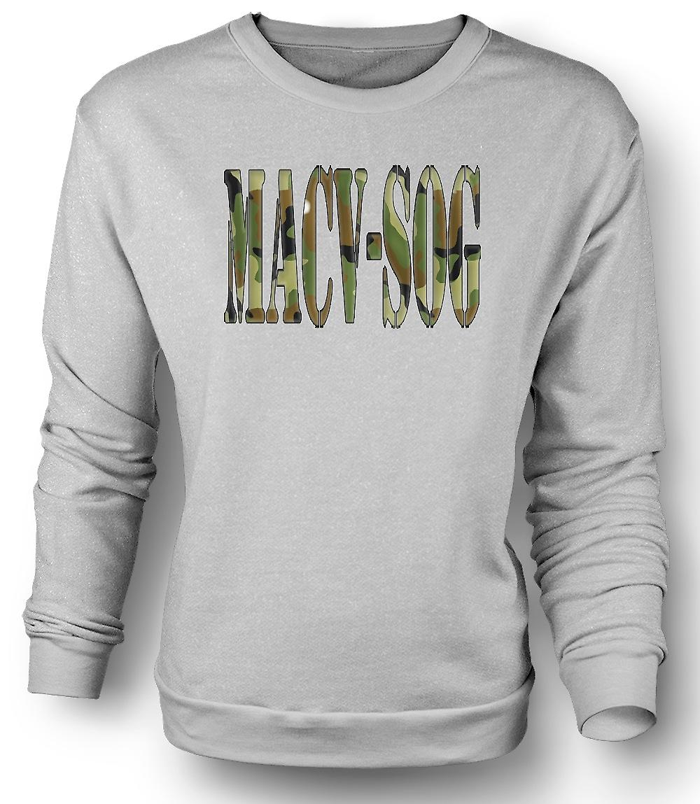 Mens Sweatshirt MACV-SOG US Special Forces