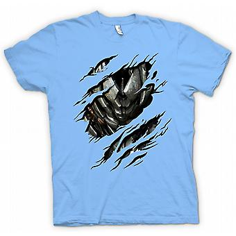 Womens T-shirt - Megatron Ripped Design - Transformers Inspired
