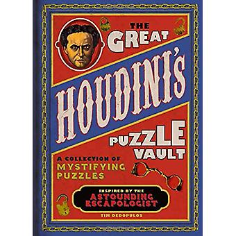 The Great Houdini's Puzzle Vault by Tim Dedopulos - 9781780979564 Book