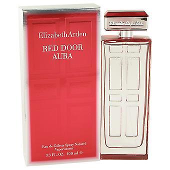 Elizabeth Arden rode deur Aura Eau de Toilette 100ml EDT Spray
