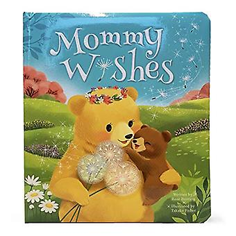 Mommy Wishes: Padded Board Book [Board book]