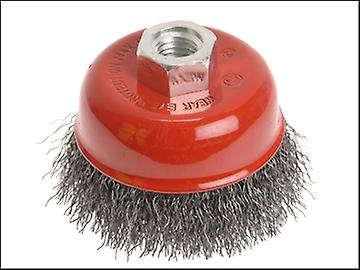 Faithfull Wire Cup Brush 75mm x M14 x 2 0.30mm