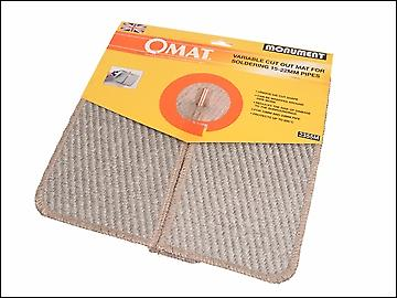 Monument 2355M OMAT® Soldering Mat 15-22mm 12 x 12in
