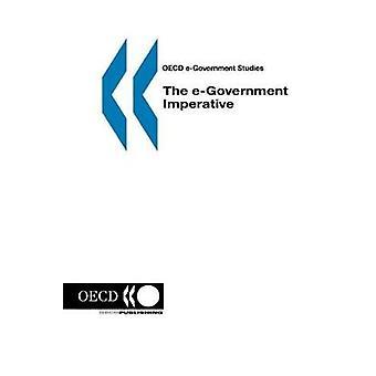 OECD eGovernment estuda o eGovernment imperativo pela OCDE. Publicado por publicação da OCDE