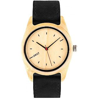 Watch D.W.Y.T DW-00102-1003 - Tundra wood mixed black leather