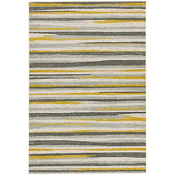 Colt Cl010 Stripe Rugs In Mustard By Asiatic