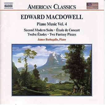 E. Macdowell - Edward Macdowell: Piano Music, Vol. 4 [CD] USA import
