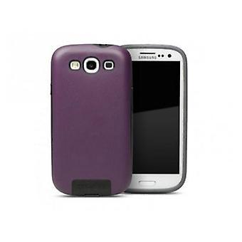 Cygnett Apollo Hybrid Case for Samsung Galaxy S3 Wine Tasting (Purple)