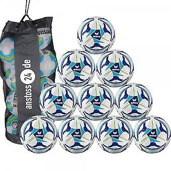 10 x erima training ball Senzor all-round training includes ball sack